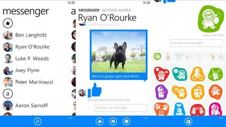 Facebook Messenger para Windows Phone ahora permite compartir videos