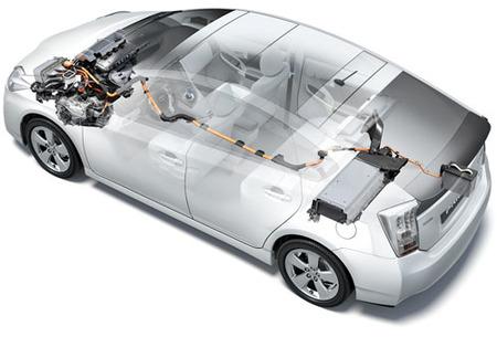 sistema eléctrico Toyota Prius