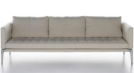Sofá en piel de Philippe Starck