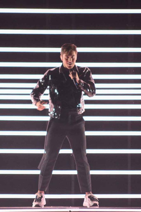 Benjamin Ingrosso Representing Sweden Eurovision Song Contest 2018 Final