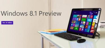 Ya disponible Windows 8.1 Preview