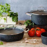 Ofertas de cocina en Amazon con creperas y woks Bra, envasadoras al vacío Dalmo o cazos Monix