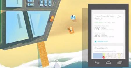 Google Now añade tarjeta para dar seguimiento al precio de vuelos