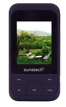 Reproductor MP4 Sunstech Medusa TFT 1,8'' de 4 GB