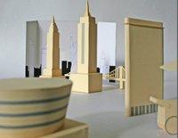 Paper New York, esculturas de papel