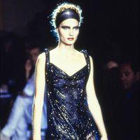 Este es el (maravilloso) vestido vintage que Kim Kardashian lució en la fiesta de 40 años de Kourtney