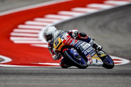 Un año después de salir del mundial, Romano Fenati domina en Austin y vuelve a ganar en Moto3