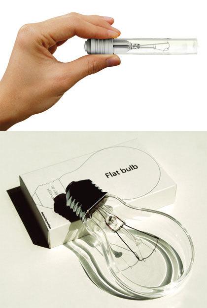 Flat Bulb, la bombilla plana