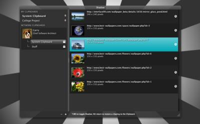 Shadow, compartiendo portapapeles entre varios Mac