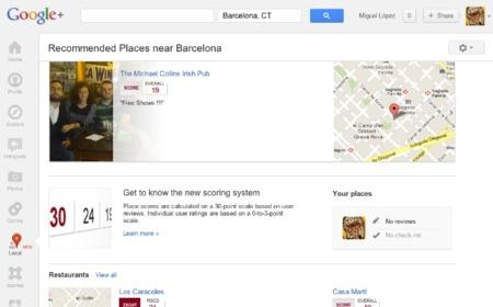 Google lanza su nuevo servicio de búsquedas y recomendaciones locales