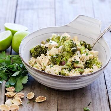 Platos completos, ligeros y vegetarianos para ayudar a tu dieta que se disfrutan en bol