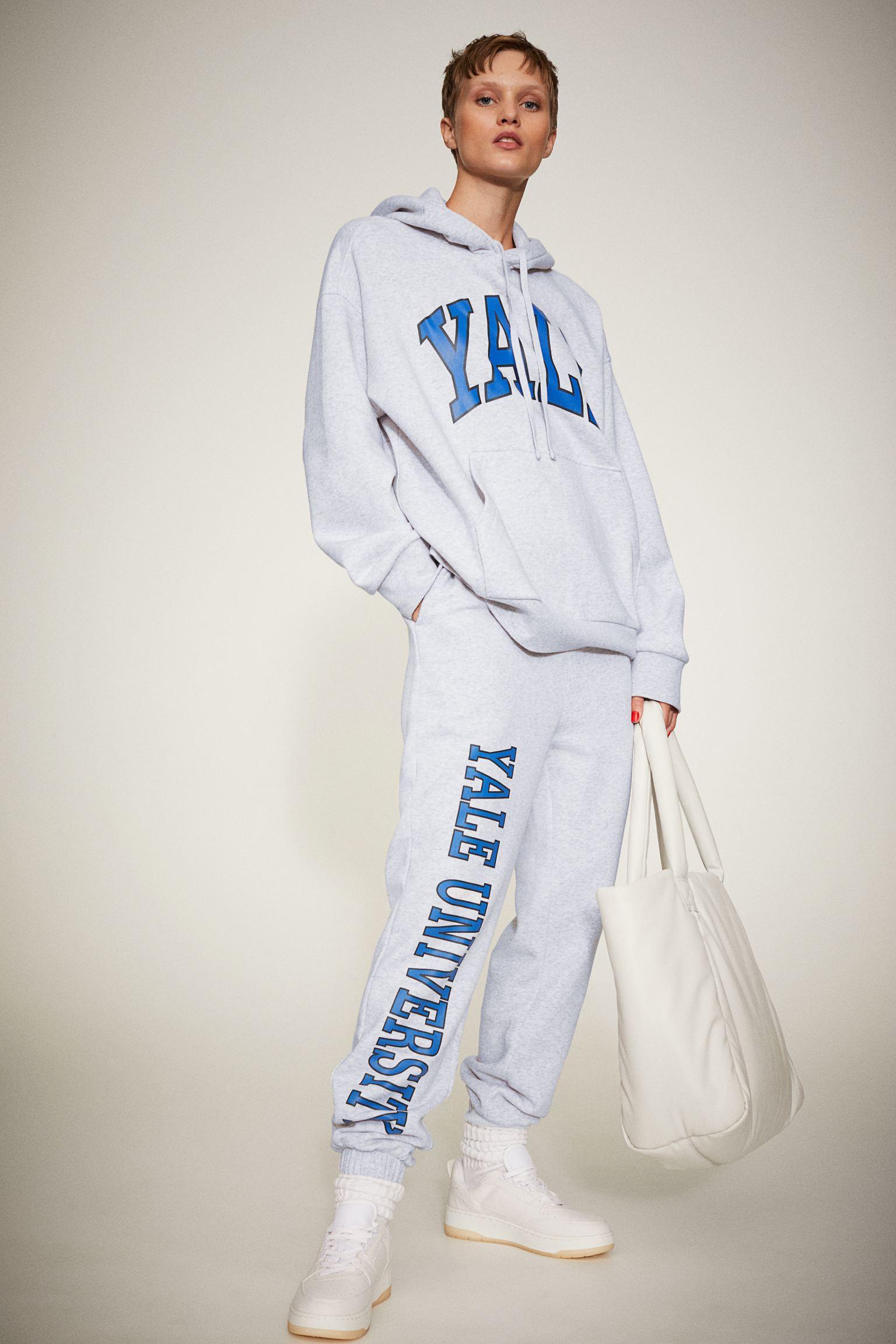 Sudadera oversize de Yale