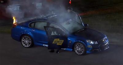 Dolorpasión™: El humeante Chevrolet SS Pace Car de Daytona