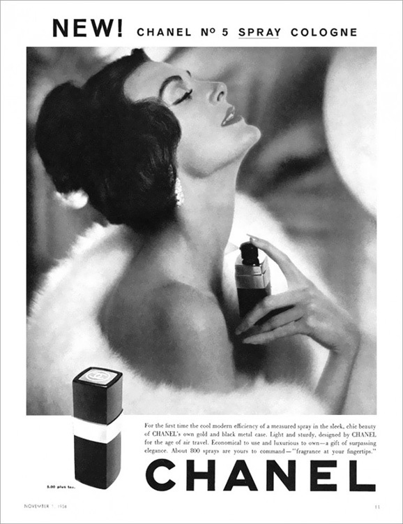 Chanel No. 5 - 1968 - Carmen Dell'Orefice