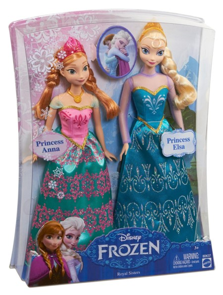 Pack Elsa y Anna