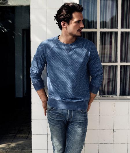 Sudadera Azul H&M 2013