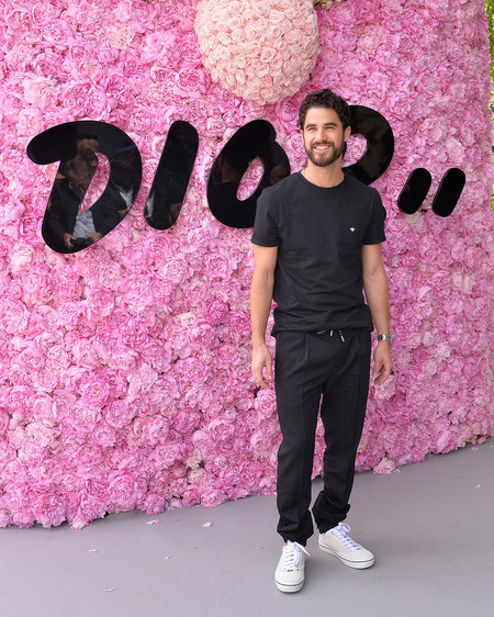 Darren Criss Dior Homme Outside Arrivals Paris Fashion Week Menswear Spring Summer 2019