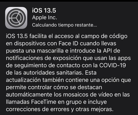 Desbloqueo Iphone Mascarilla