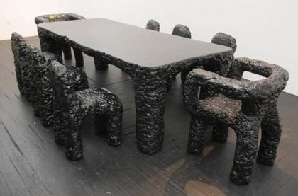 Muebles de piedra