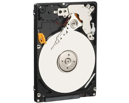 Disco duro de 320 GB y 2.5 pulgadas de Western Digital