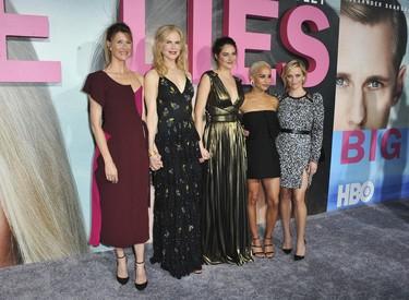 En la premiere de 'Big Little Lies' Nicole Kidman no fue la única protagonista