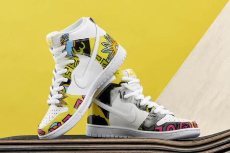De La Soul Nike Dunk Hi 0
