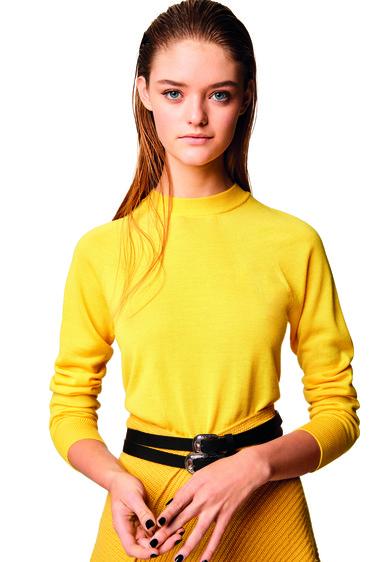 El jersey TV31100 de Benetton es una declaración de amor por el estilo italiano