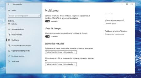 Fluent Design Configuracion