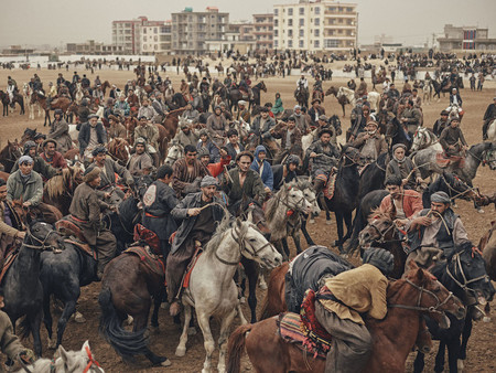 Buzkashi, de Balazs Gardi. Sony World Photography Awards 2018.