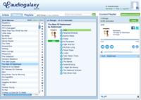 Audiogalaxy vuelve reconvertido en un reproductor de música en la nube