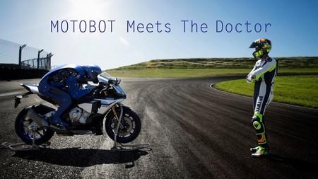 Motobot Yamaha Valentino Rossi