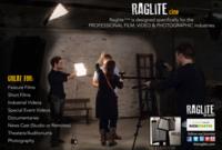 Raglite, iluminación plegable para usar tus LED donde quieras