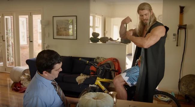 Darryl y Thor