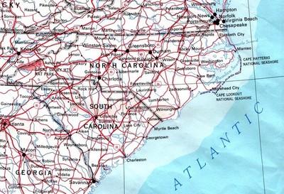 Carolina del Norte, donde quieren hacer pagar a los conductores por cada milla recorrida