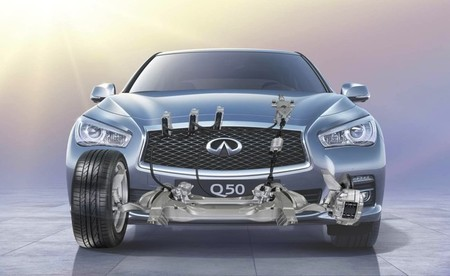 Infiniti Steer by-wire