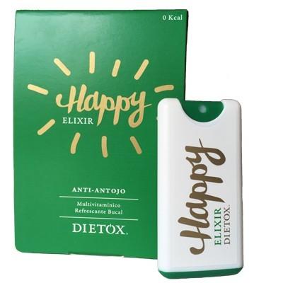 Happy Elixir Anti Antojo Refrescante Bucal Multivitaminico