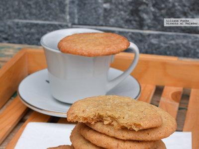 Receta de galletas de coco. Crujientes o tiernas, la misma receta gustará a todos
