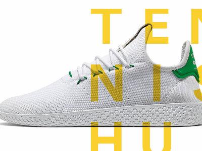 The Tennis Hu: Lo nuevo de Pharrell y Adidas que suma color a lo simple