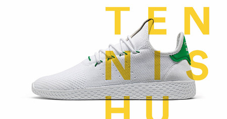 The Tennis Hu: Lo nuevo de Pharrell y Adidas que suma color a lo simple