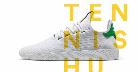 The Tennis Hu: Lo nuevo de Pharrell y Adidas que suma color