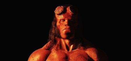 Primeras imágenes del reboot de Hellboy: así es David Harbour como el demonio rojo