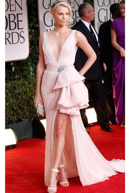 Charlize Theron de Dior Alta Costura