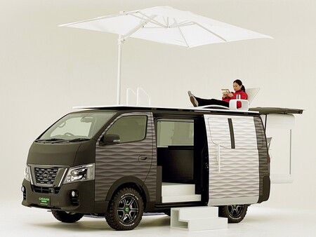 Nissan Nv350 Office Pod Concept Tas2021 2