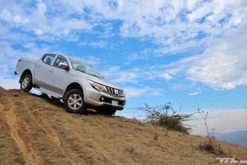 Probamos la Mitsubishi L200 y entendimos por qué es una gran opción una pick-up diésel