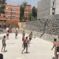 """""""Retas"""" prehispánicas: así se practica el juego de pelota en su nueva cancha en Ciudad de México"""