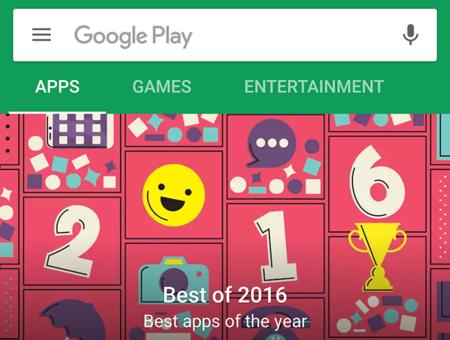 Google está probando a separar aplicaciones y juegos en la Play Store