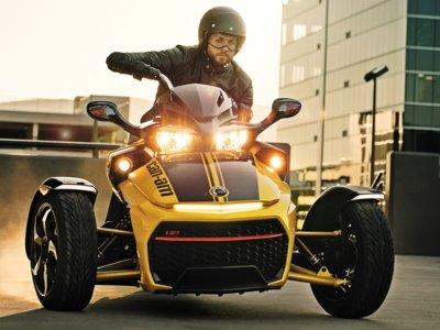 ¿Que los triciclos son juguetes para niños? Anda, echa un vistazo a la gama Can-Am Spyder 2017