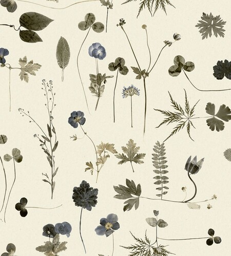 Papel pintado botánico