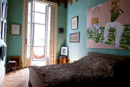 Un dormitorio diferente.