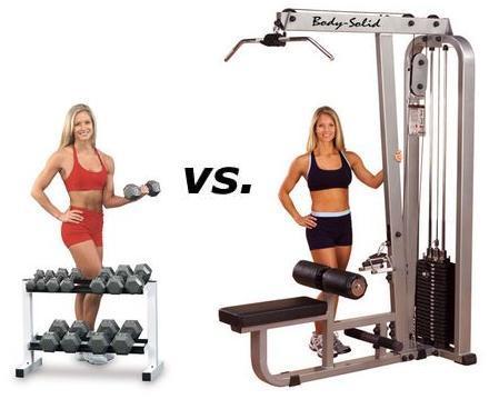 Mancuernas Vs. Máquinas ¿Qué es mejor en musculación?